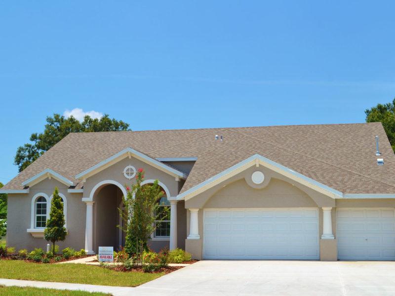 exterior model home
