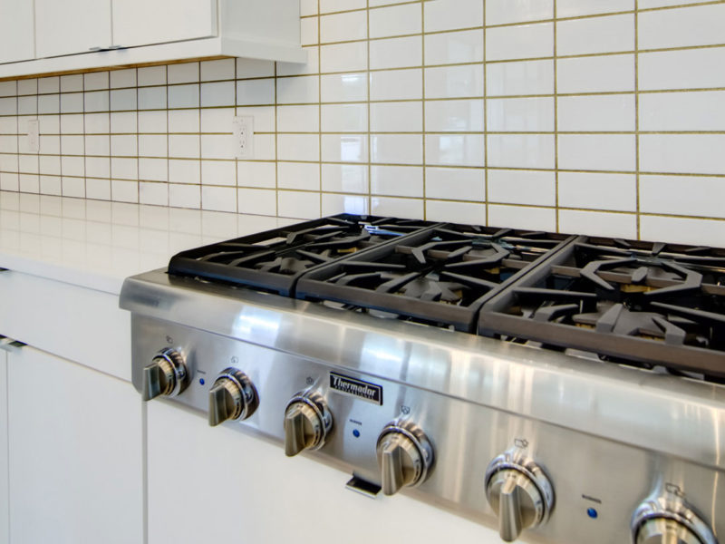 kitchen gas stove top