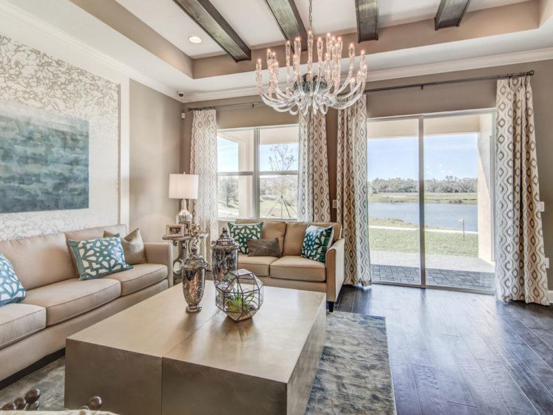 Hickory Breeze Interior Living Room
