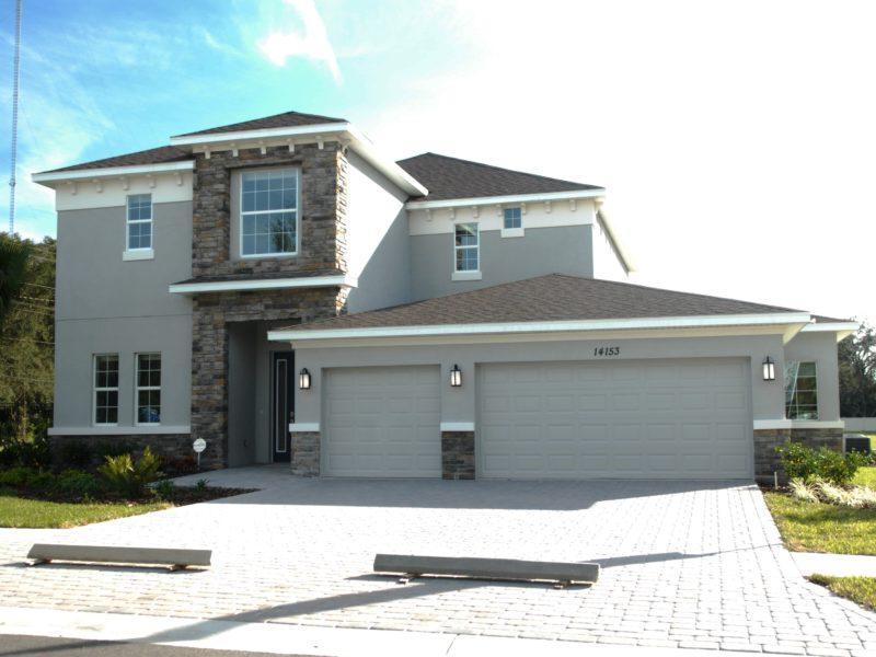 hickory breeze model home