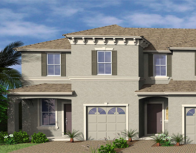 cypress bay model townhome