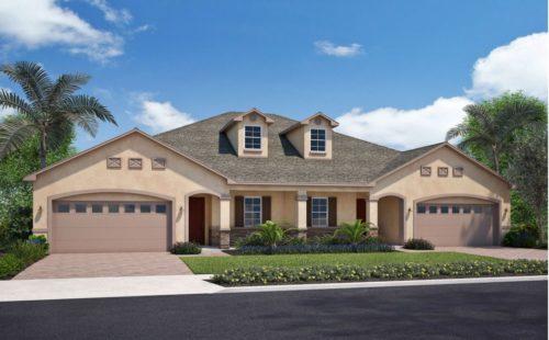 the valencia model home